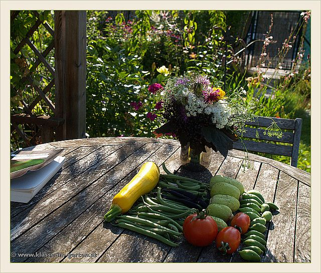 Garten Tapir- gelesen und geerntet 2013-07   Flickr - Photo Sharing!
