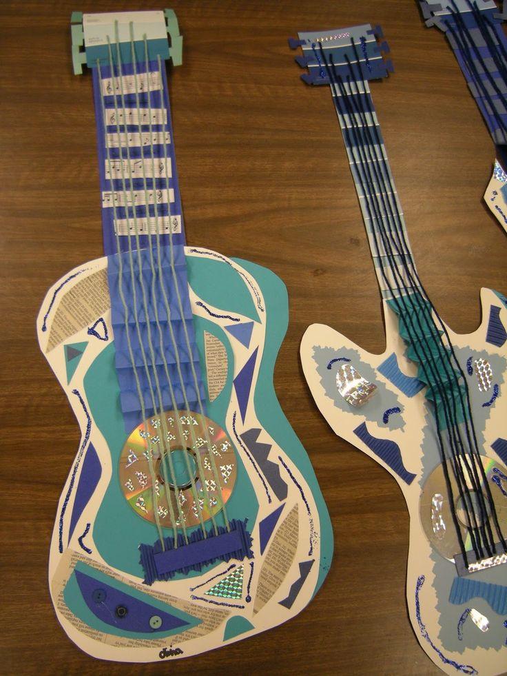 Artolazzi: Picasso Blue Period Guitars