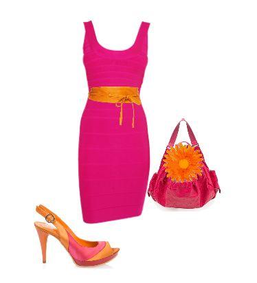 оранжевый цвет, сочетание оранжевого, оранжевая одежда, оранжевый пояс