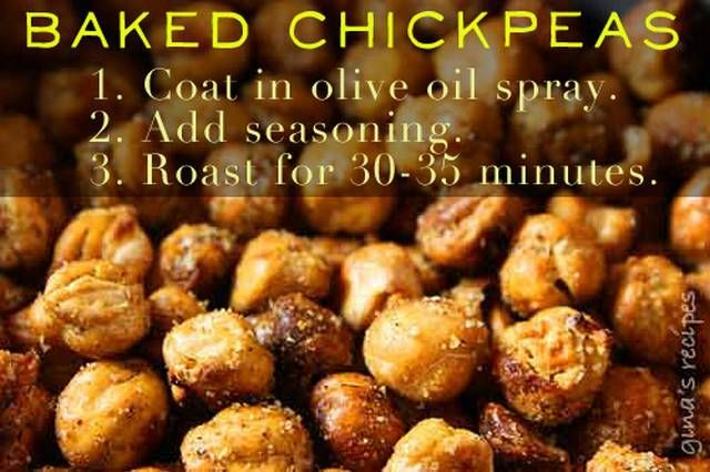 Baked chickpeas....: Chickpeas Snacks, Olive Oil, Fun Recipe, Roasted Chickpeas, Healthy Snacks, Baking Chickpeas, Sea Salts, Savory Recipe, Food Tips