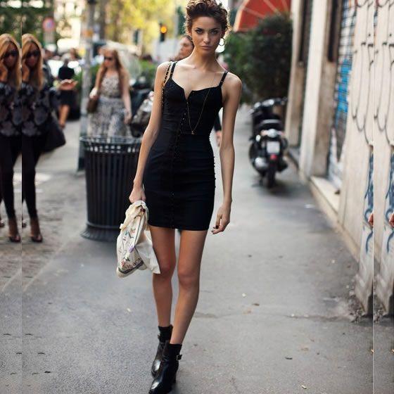 #stealthelook #look #looks #streetstyle #streetchic #moda #fashion #style #estilo #inspiration #trendy #tendencias #cores #vestido #dress #Preto #black #bota #stockholmstreetstyle: