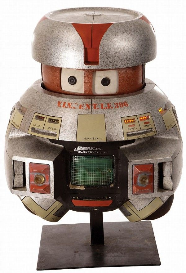 Full-size, screen-used V.I.N.CENT from The Black Hole is up for auction