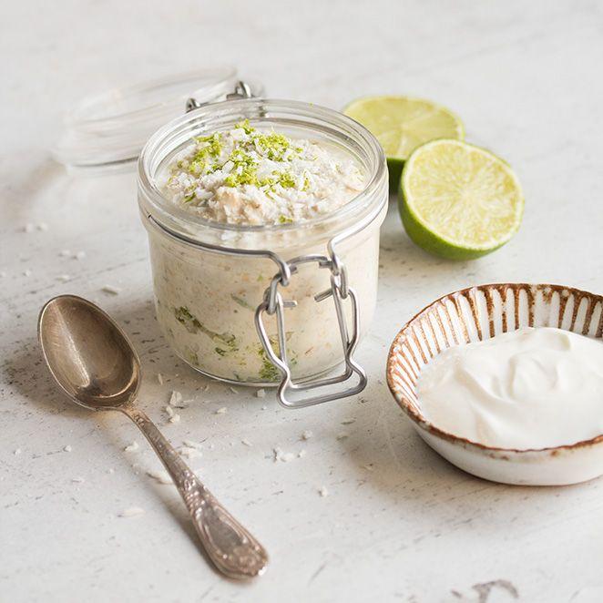 Mit spritzig-frischer Limette und der karibischen Note von Kokosnuss lässt Sie dieses Frühstück von Urlaub träumen.