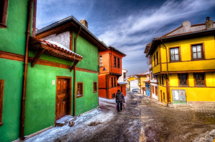Whoa! Winter doesn't feel as cold and dreary with colors like this. Eskisehir by Nejdet Duzen, via 500px
