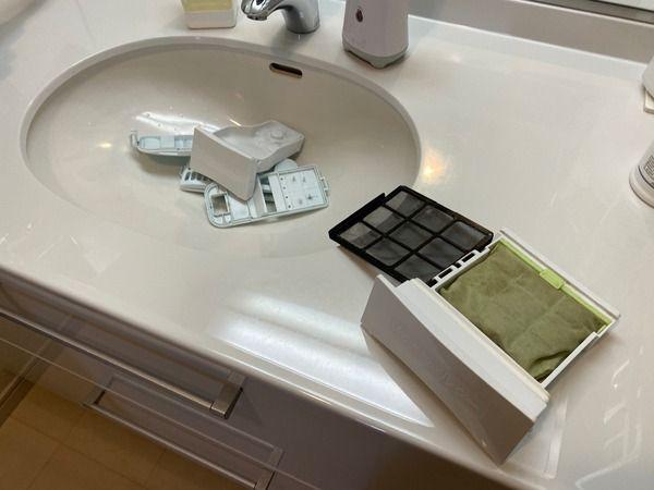 洗濯機の部品掃除 2020 掃除 洗濯機 浴室乾燥