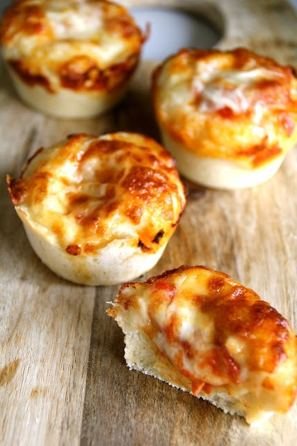 mini lasagna/pizza muffs...bite size for kids