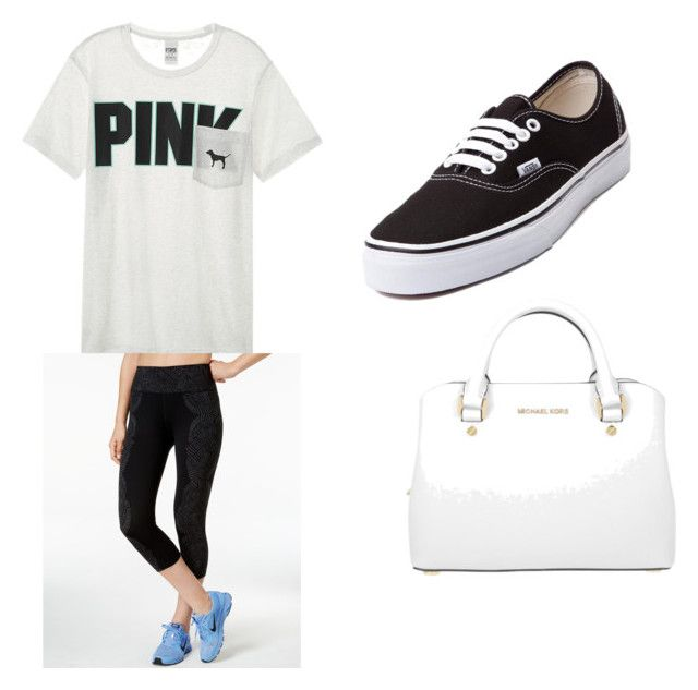 """Day Out"" by ashleejosias on Polyvore featuring Victoria's Secret, NIKE, Vans and Michael Kors"