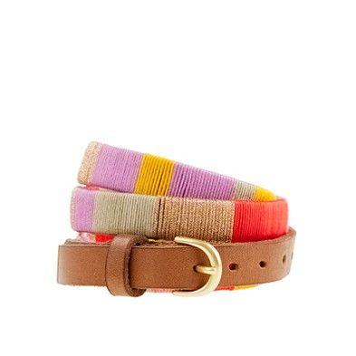 belt: Style, Colors, Colorblock Belt, Accessories, Wrapped Belt, Belts, Colorblock Thread