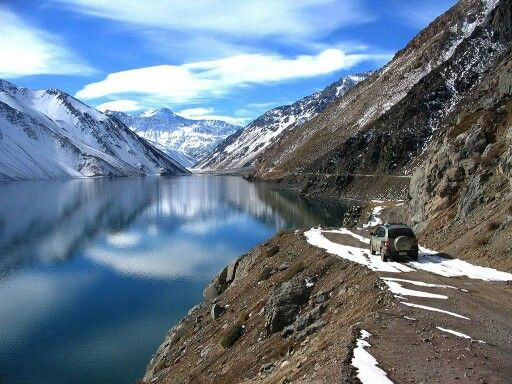 Embalse El Yeso, en Chile.