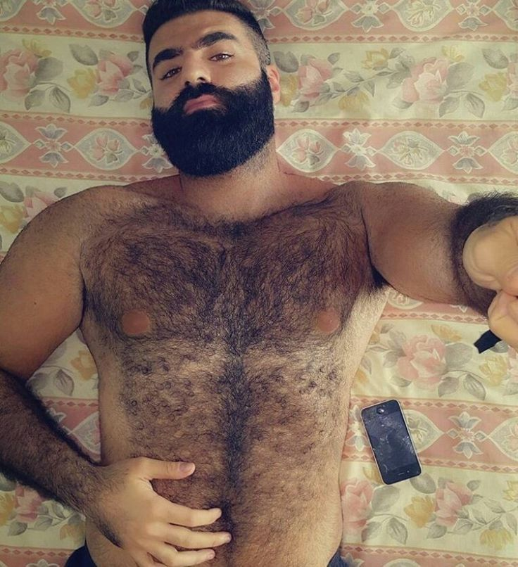 "beardburnme: ""Itothem Instagram "" Want to see more of this hot stud."