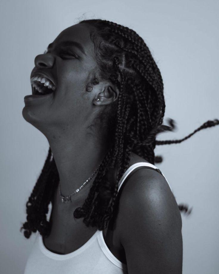 – M E R I A H J O H N ➰ (Meriah John) Braids. Pure hair. Plaits. Field braids…