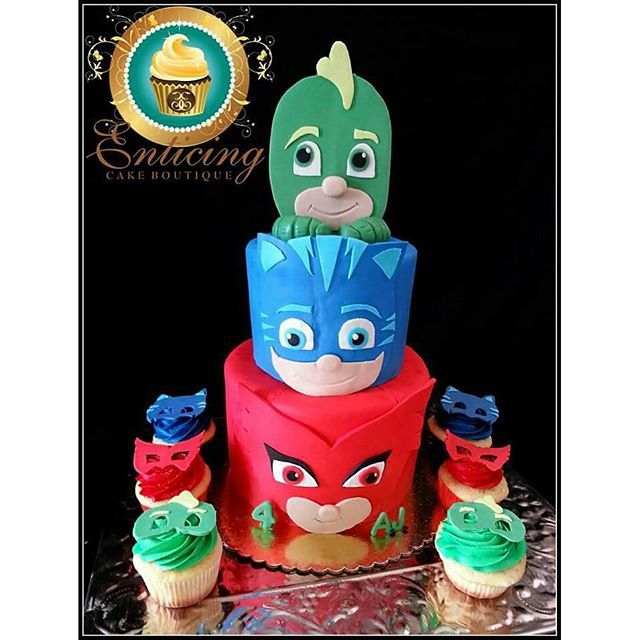 pj mask- Travis would LOVE this cake x