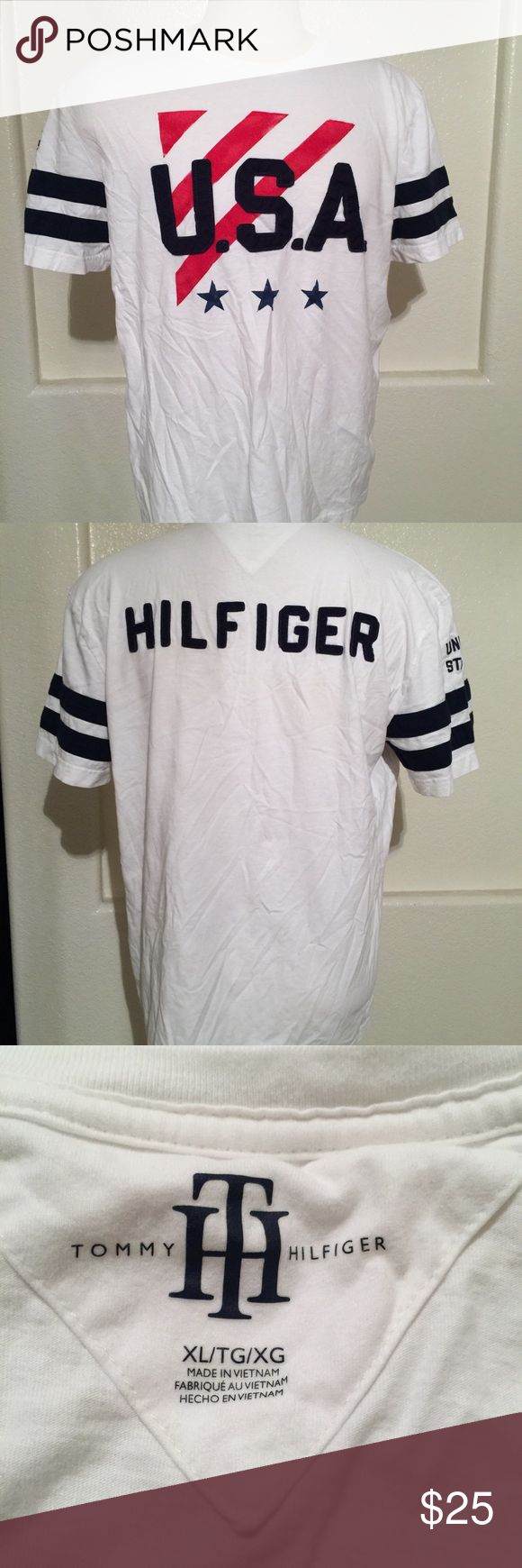 Men's Tommy Hilfiger USA TShirt XL New without tags. Men's size XL. Tommy Hilfiger Shirts Tees - Short Sleeve