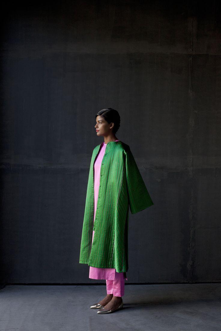 Aamira Jacket , Abida Kurta , Mehzun pajama