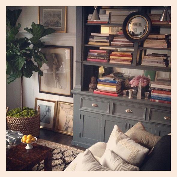 Grant K. Gibson living room