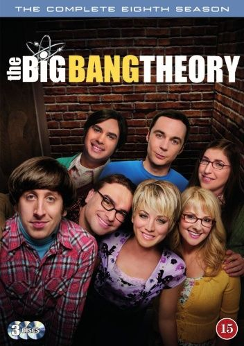 The Big Bang Theory - Säsong 8 (3 disc) (DVD)