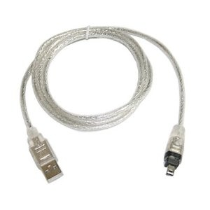 USB 2.0 to IEEE 1394 Firewire 4 Pin 4 feet Cable for Digital Camera or camcorder