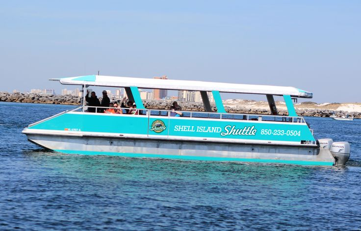 Shuttle to Shell Island - Panama City Beach, Florida