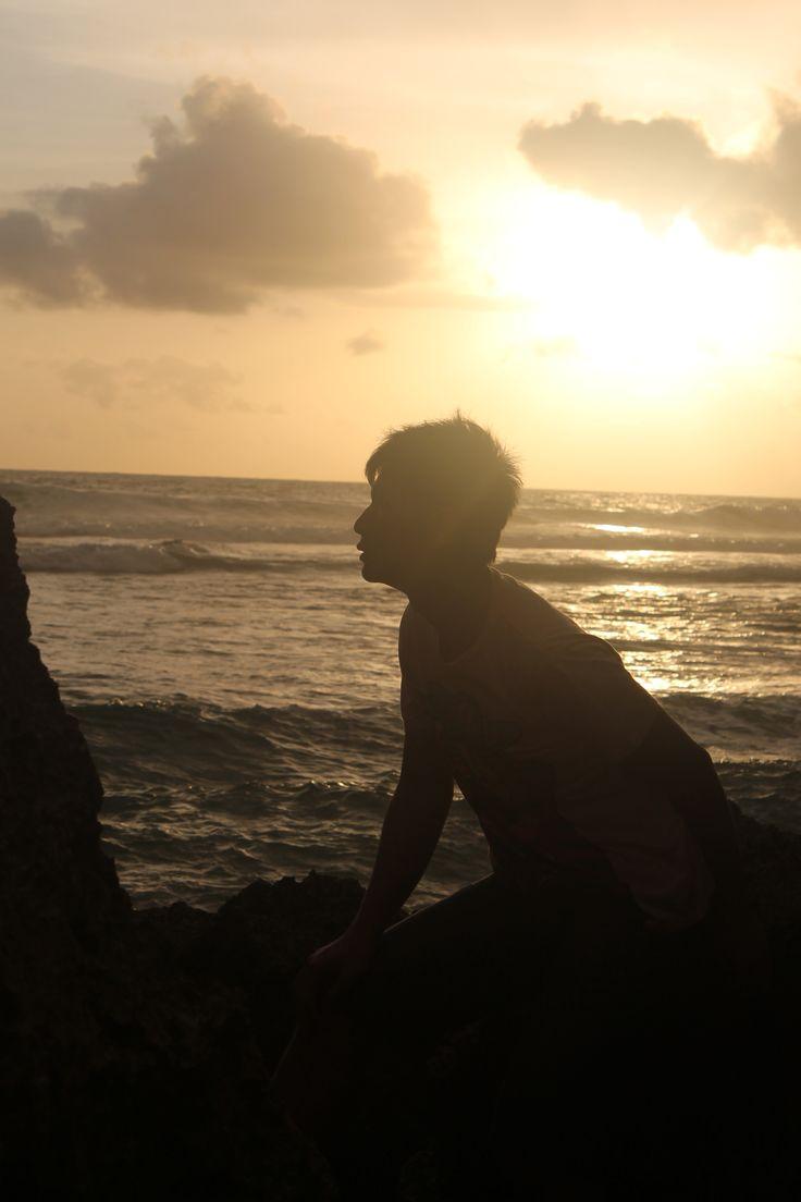 Pantai Indrayanti in Gunung Kidul, DI Yogyakarta