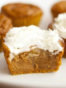 Impossible Pumpkin Pie Cupcakes | Want-to-Share.com