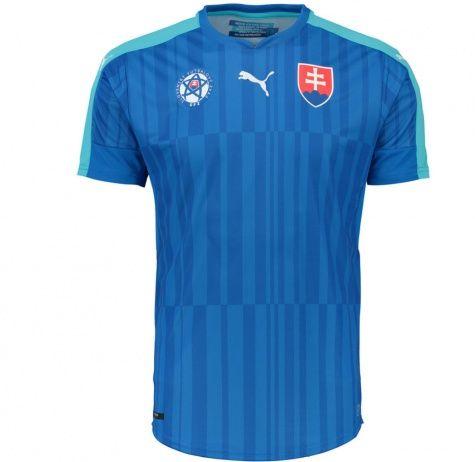 Slovakia 2016/17 Away Football Shirt - Available at uksoccershop.com