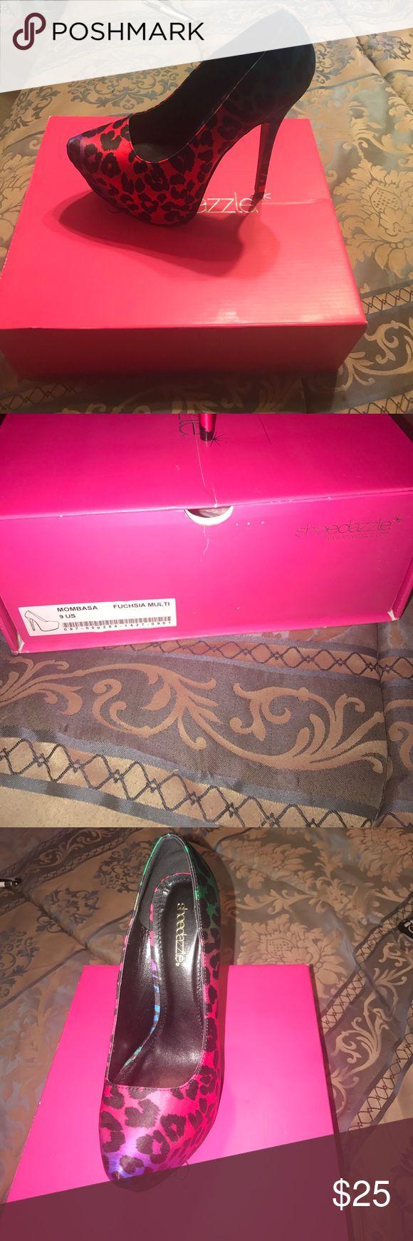 Shoe Dazzle Mombasa High Heel New purchase from Shoe dazzle ShoeDazzle Shoes Heels