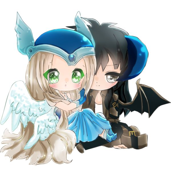1000+ images about Chibi couple on Pinterest | Couple ...