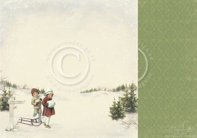 Papper Pion Design - The Night before Christmas - Tree farm