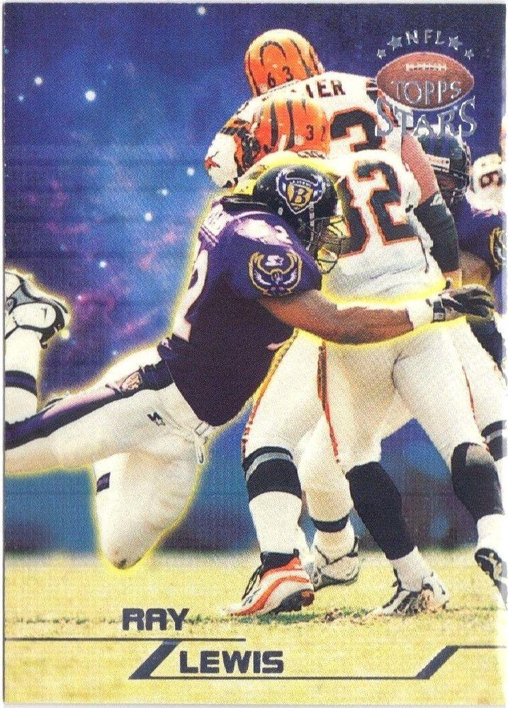 1998 Topps Stars Silver #61 Baltimore Ravens Ray Lewis 0741/3999