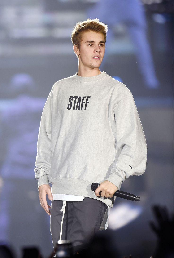 Justin Bieber Purpose Tour Manchester