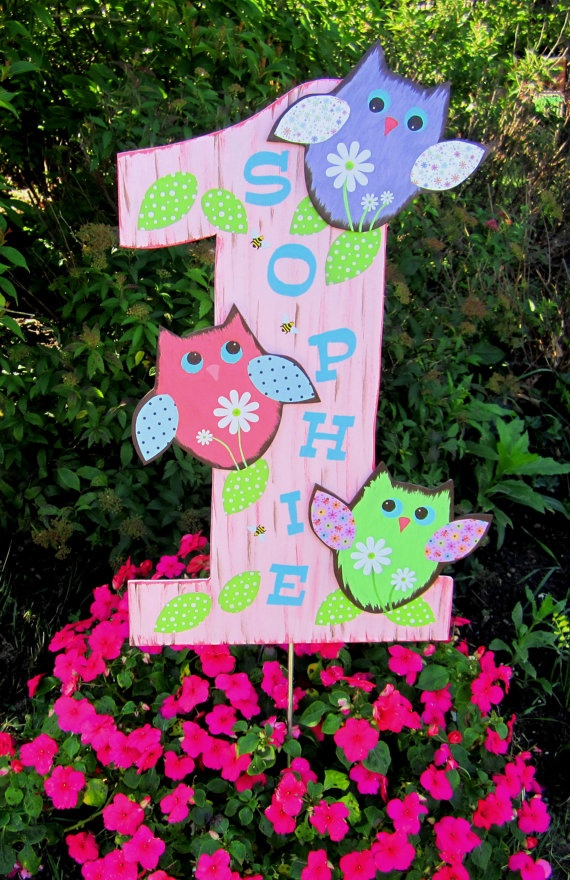 owl sign (sing and hang for memories)