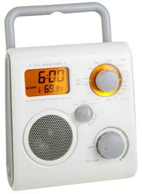 Radio ducha Rock&Shower para 2 fotosAA para 2 fotosAG13 incl.