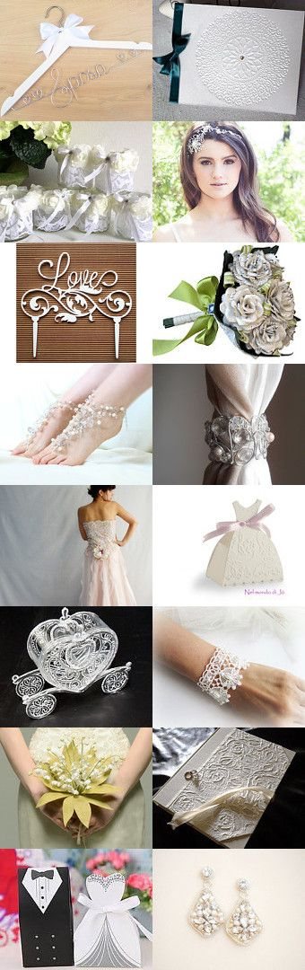 ♥ Bride ♥ Wedding by Miss Style on Etsy--Pinned+with+TreasuryPin.com