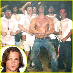Jared Padalecki Body Gay Jared Padalecki Is Shirtless