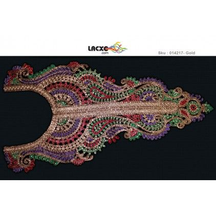 Neck Designs - 014217 Rs405.00