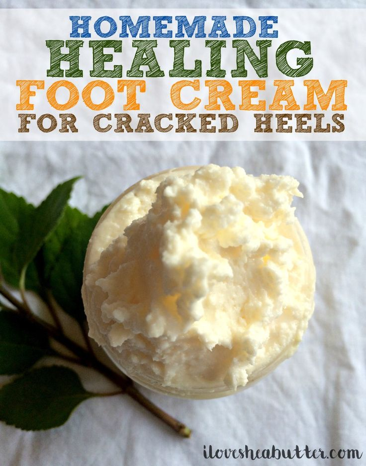 shea butter foot cream recipe