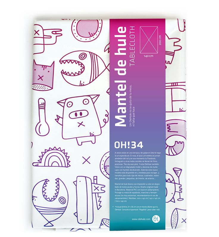 Nuevo OH!34 en tonos magenta y violetas. Disponible en 3 medidas. Disponible en www.olehule.com/product/oh-34-olehule-lamina