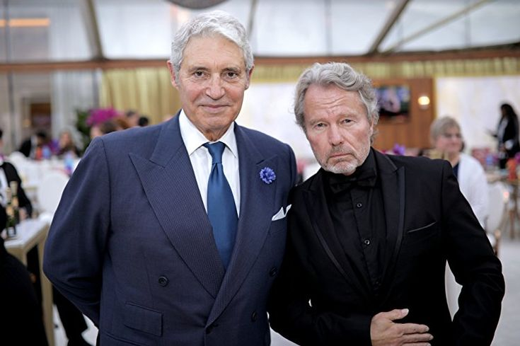 John Savage and Michael Nouri at an event for The 75th Golden Globe Awards (2018)