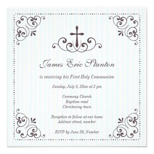 24 Best First Holy Communion Invitations Images On Pinterest