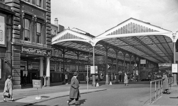 Old Euston Station - Outward on the Arrival Side 1962 - Ben Brooksbank