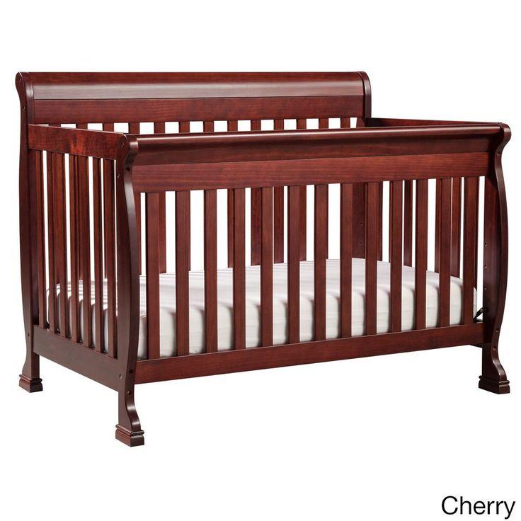 DaVinci Kalani 4 In 1 Crib With Toddler Rail Grey