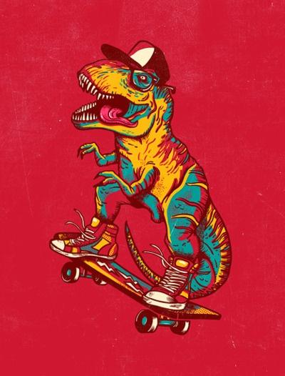 tyrannosaurus rad by joao lauro fonte.