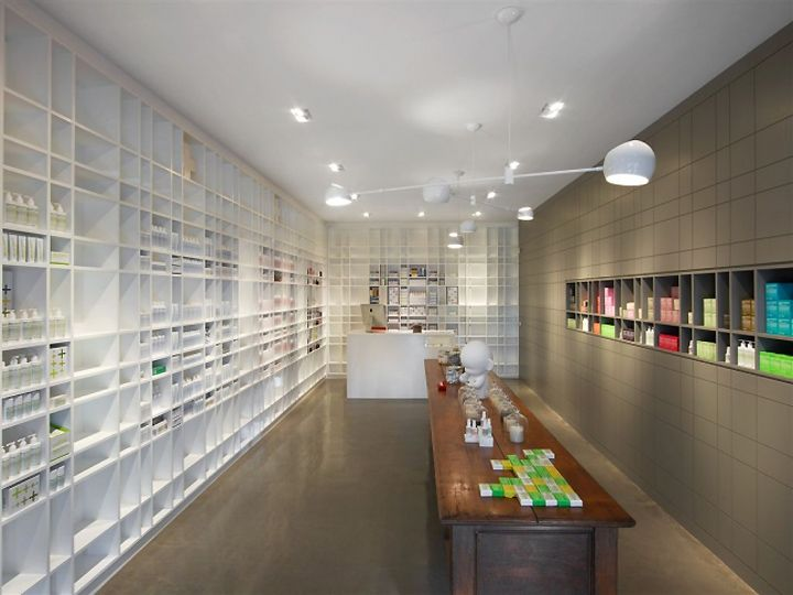 (Malin+Goetz) apothecary by Bernheimer Architecture, Los Angeles