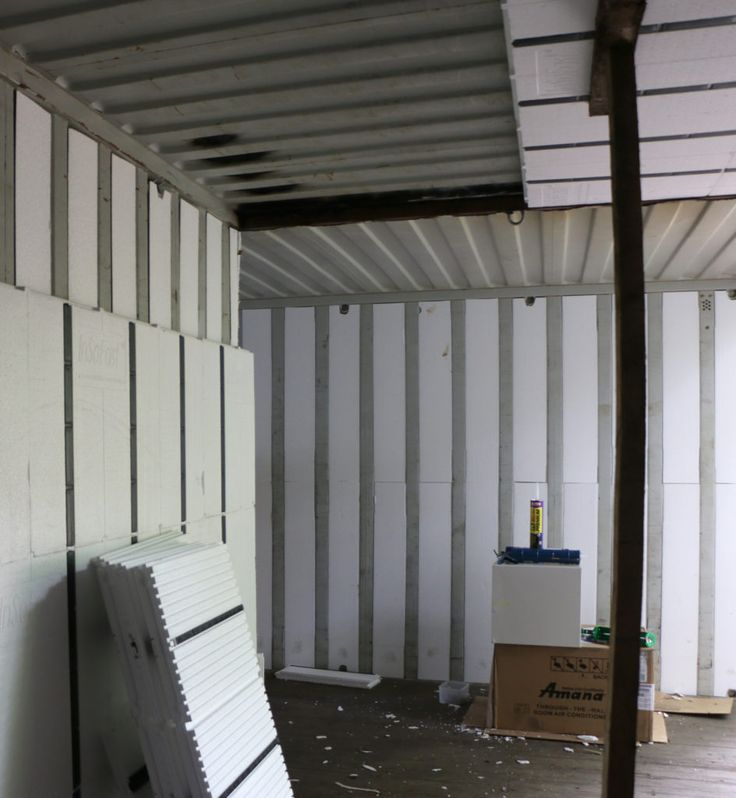 Continuous Insulation For Shipping Containers