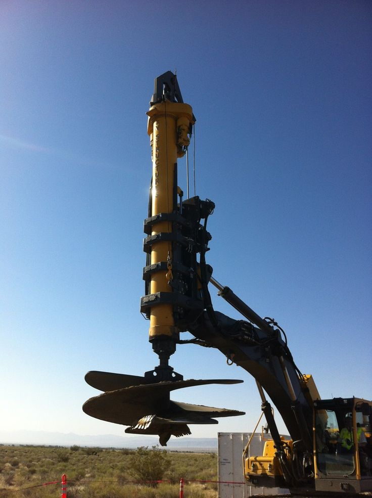 Foundation Drilling Equipment, Parts & Support | Bay Shore Systems