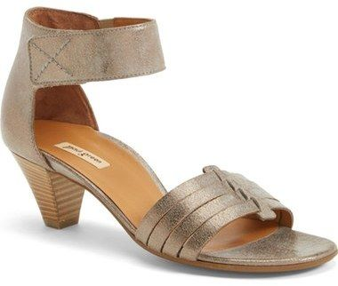 My wedding shoes.....  Paul Green 'Coco' Leather Ankle Strap Sandal (Women)
