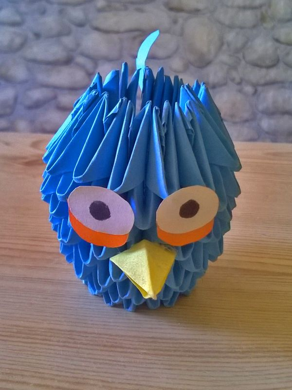 3D Origami Angry Birds.