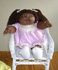 Black African American Cabbage Patch Doll Signed Birth Cert (Hedda) Papers