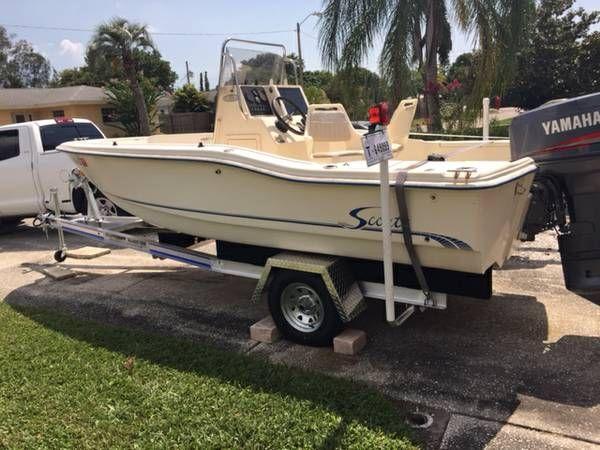 En venta de Ocasión Scout 175 Sportfish del 2000