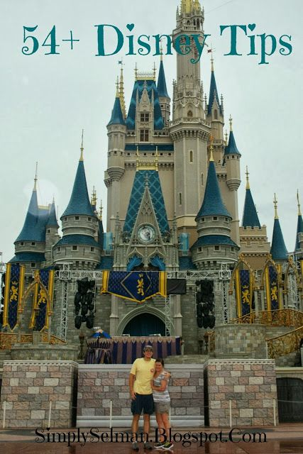 54+ Disney Planning Tips and Tricks on Simply Selman. {has some good tips!}
